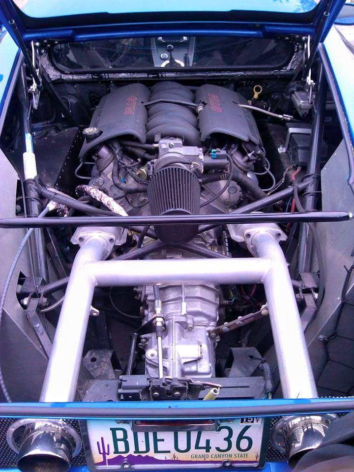 Twin turbo LSX Factory Five GTM, first fire (video ) - LS1TECH ...